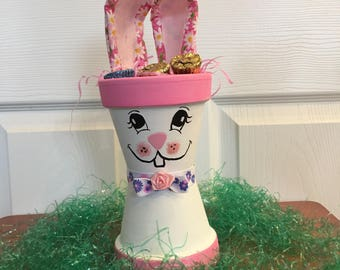 Easter Bunny Candy Dish/Plant Holder