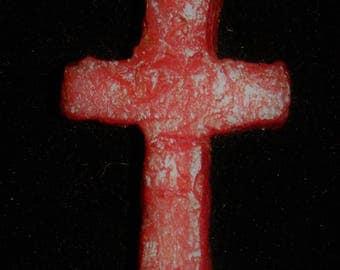 Flower Petal Clay Cross