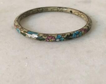 cloisonne enamel bracelet