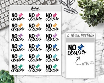 No class stickers, No class typography, no class planner stickers, no class functional stickers, student stickers