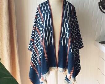 Handmade Indigo Kimono