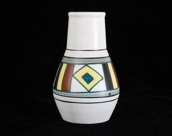 FOHR KERAMIK VASE Ceramic from West Germany 1950s/1960s Mid Century