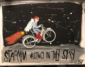 Starman Waiting in the Sky