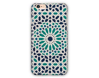 Ornaments Moroccan Pattern Phone Case for iPhone 8 / iPhone 7 / 7Plus, iPhone 6/6Plus iPhone5 Samsung Galaxy S7/7 edge / S6 / S6 edge/S5