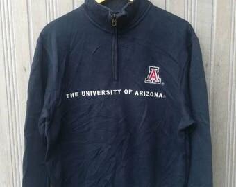 Vintage Jansport University of Arizona Half Zipper Sweatshirt Size M