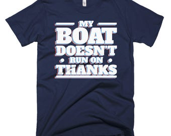My Boat Short-Sleeve T-Shirt