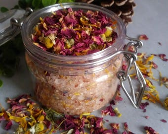 Bath Salts Natural Botanicals and Dead Sea Salt