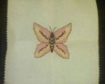 Handmade Butterfly Cross Stitch