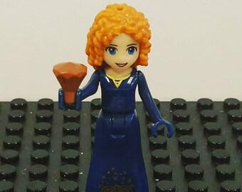 MERIDA Brave Disney LeGo Princess Minifigure Toy  Popular Characters for Boys Girls Gift Collectors Item Favor Marvel DC Superhero Princess