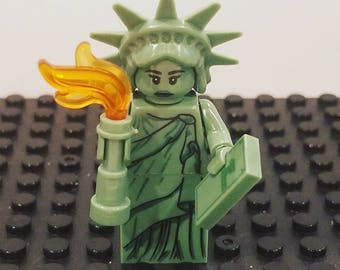 LADY LIBERTY Lego Princess Minifigure Toy  Popular Characters for Boys Girls Gift Collectors Item Favor Marvel DC Superhero Princess