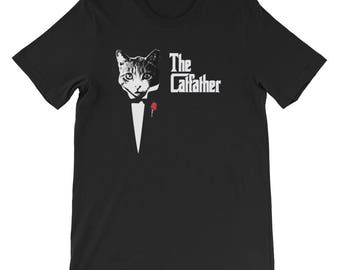 The Catfather  cat cat lover gift cat lover cats cat gift cat tshirt funny cat shirt crazy cat lady funny cat