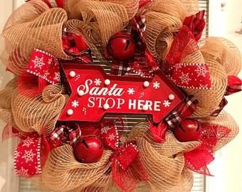 Fun light up christmas wreath