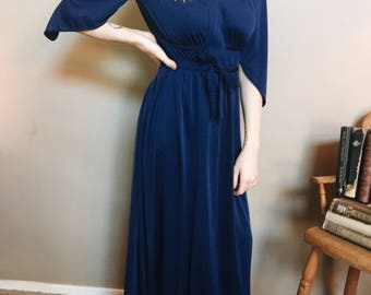 Vintage 1970's Maxi-Dress