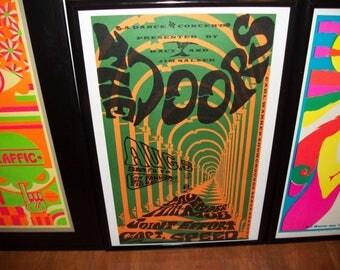 The Doors Capt Speed Original SECOND PRINTING 1967 Promo Poster NM++ Rare Find!