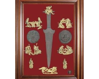 decoration of  cythian gold