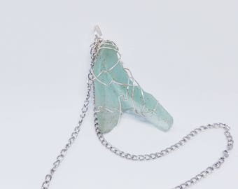 River Glass Necklace
