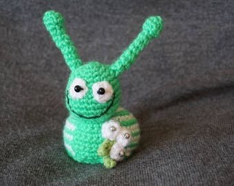 Funny snail, crochet