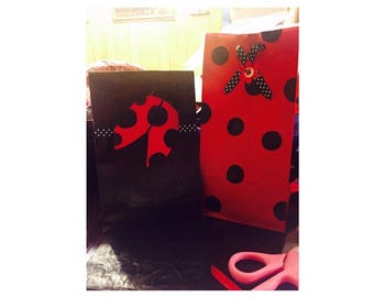 Personalized birthday goodie bags