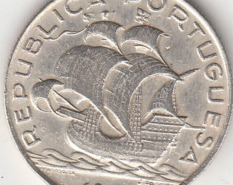 Portugal, 5 escudos from 1947, silver coin