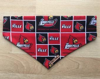 Louisville Cardinals dog bandana