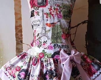 Loveheart open back dress