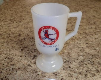 St. Louis Cardinals Baseball Glass Mug