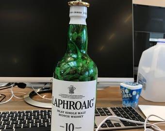 Laphroaig Bottle Lamp