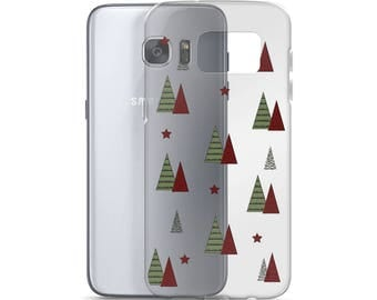 Christmas trees Samsung Case