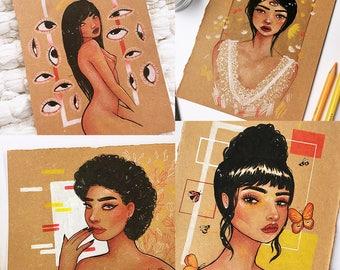 Muse Series Original Illustrations
