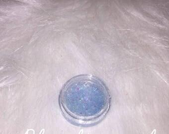 Blue diamond lip gloss