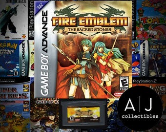 Fire Emblem The Sacred Stones Nintendo Gameboy Advance GBA