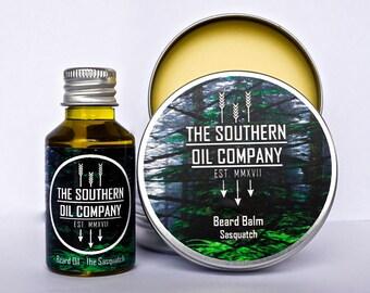 Beard Oil and Balm Combo - The Sasquatch