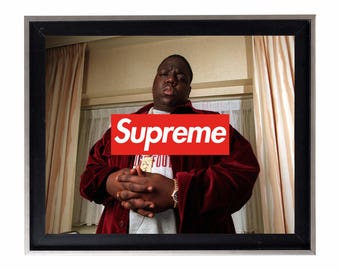 Supreme x Biggie Smalls Poster or Art Print