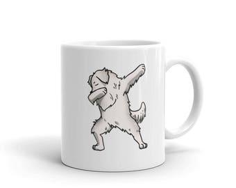 Cute Dabbing Great Pyrenees Mug Funny Dab Dance Dog Gift