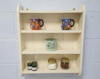Handmade Kitchen Shelving Unit