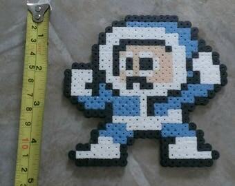 Ice Man Mega Man Perler