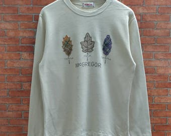Rare!! McGregor sweatshirt Small Size