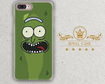 Pickle Rick, iPhone 7 Plus case, Rick and Morty, iPhone 8 Plus Case, iPhone 8 Case, iPhone 7 case, iPhone 6S Case, iPhone 6S Plus Case, 111