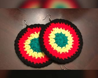 Reggae Rasta Earrings