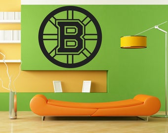 Boston Bruins Decal Etsy - Custom vinyl decals boston