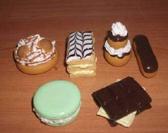 Pastry decor polymer clay