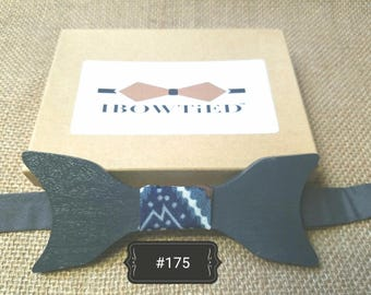 IBT Unique Wooden Bow Tie by Ibowtied