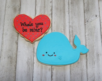 Whale You Be Mine Buttercream Cookie Boxed Set