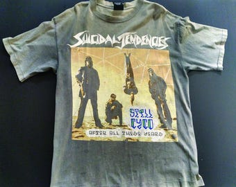 Suicidal Tendencies Vintage tour Still Cyco Rare 1993