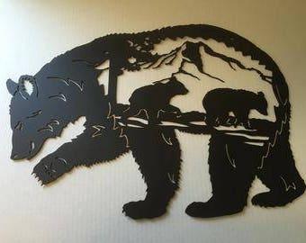 Bear Paw Scene