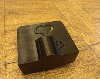 Napkin Holder | Napkin holders | napkins | napkin bands | coffee cup | coffee love | coffee heart | 3D printed | napkin rings