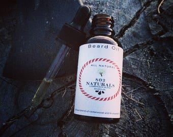 Beard Oil- Lumberjack Blend Cedar Wood and White Fir Essential Oils