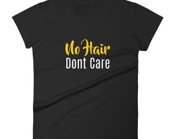No Hair Don't Care Tshirt Women's short sleeve t-shirt