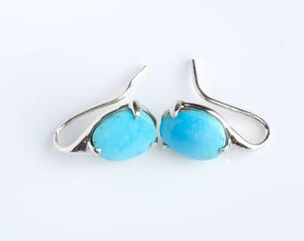 Turquoise Earring Silver Persian