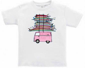 RAD Surf Van - Toddlers/Kids T-Shirt